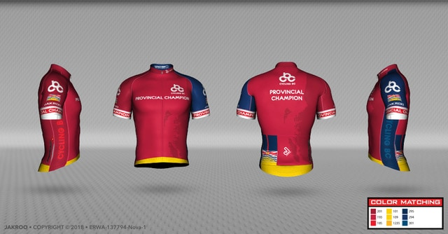 """08f0177b0 Jakroo provides cyclists and athletes with high quality custom apparel  using the finest textiles and fabrics. """"We are very happy ..."""