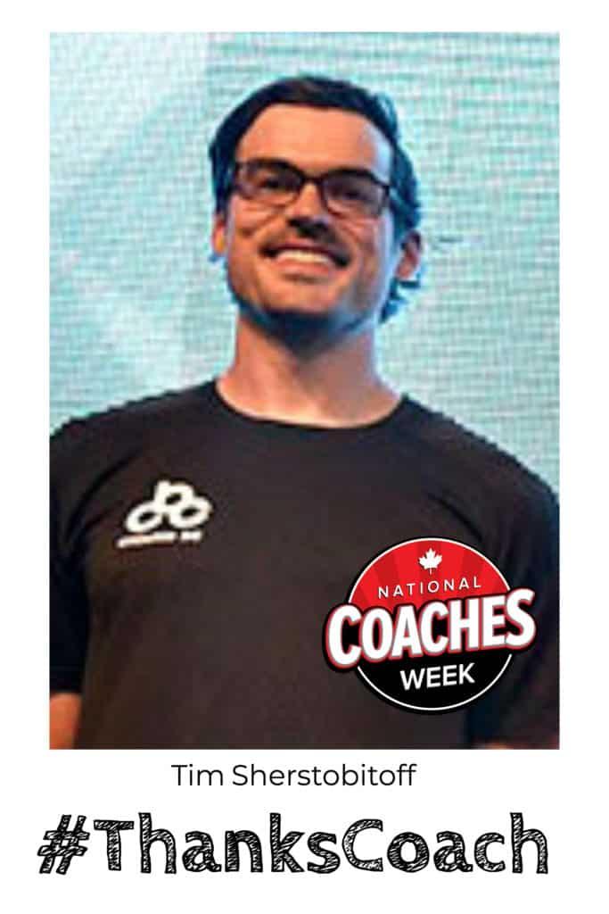 Tim Sherstobitoff National Coaches Week