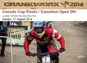Crankworx Whistler MTB Canada Cup Finals DH #3 - Aug 17, 2014 @ Whistler Mountain Bike Park | Whistler | British Columbia | Canada