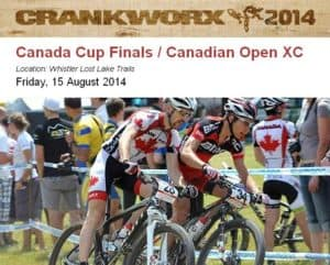 Crankworx Whistler MTB Canada Cup Finals XCO #4 - Aug 15, 2014 @ Whistler Lost Lake Trails | Whistler | British Columbia | Canada