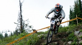 Silver Star Downhill BC Cup. Photo by Danielle Baker.