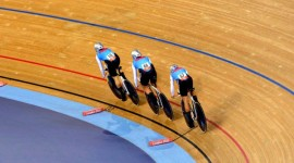 Continental championships kick off track cycling Olympic qualification period. Photo by Cycling Canada.